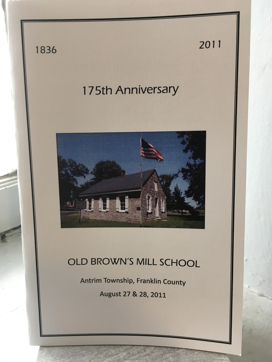 175th Anniversary Brown's Mill School Booklet