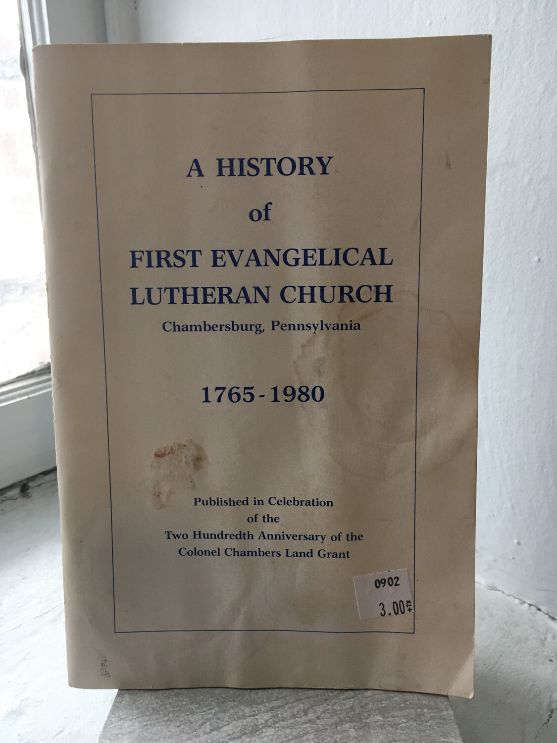 A History of First Evangelical Lutheran Church