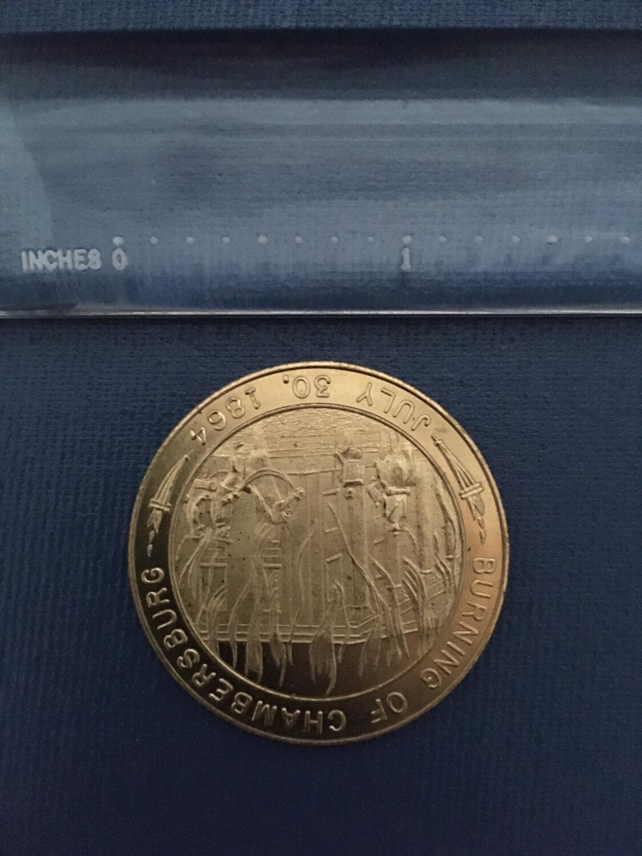 Burning of Chambersburg Coin