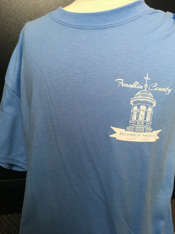 "Tee Shirt ""I DID TIME .."" Blue (M)"