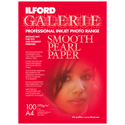 Ilford Galerie Smooth Pearl A4 100 Sheets
