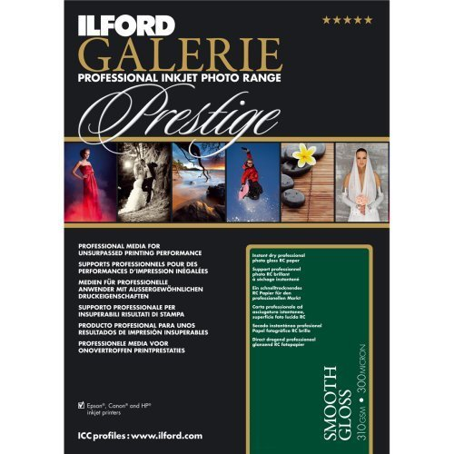 Ilford Galerie Prestige Smooth Gloss A3 25 Sheets