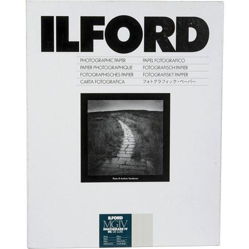 "Ilford Multigrade IV Pearl 8x10"" 20.3x25.4cm 25 pack"