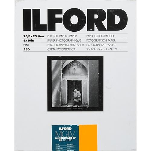 "Ilford Multigrade IV Satin 8x10"" 20.3x25.4 100 pack"