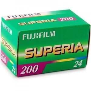3 Pack Fujifilm SUPERIA 200 36exp 35mm print film