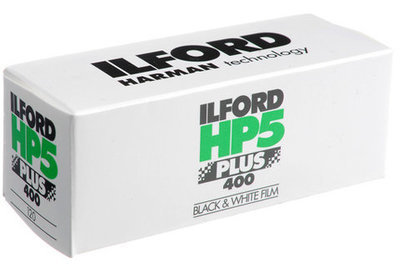 Ilford HP5 PLUS 400 - 1 roll 120 B&W film