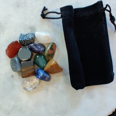 CRYSTAL WELLNESS SET