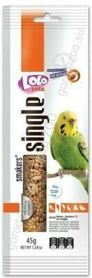 Лоло петс LoLo Pets Smakers д/волнистых попугаев 45г медовый WEEKEND