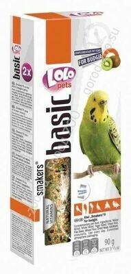 Лоло петс LoLo Pets Smakers д/волнистых попугаев 90г киви