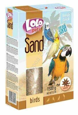 Лоло петс LoLo Pets Песок д/птиц 1,5кг анисовый