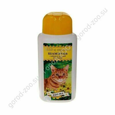 Пчелодар Шампунь гигиенический д/кош с медом и чередой 250мл