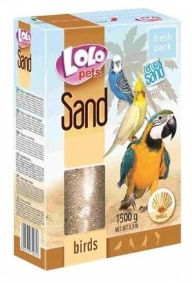 Лоло петс LoLo Pets Песок д/птиц 1,5кг с ракушками