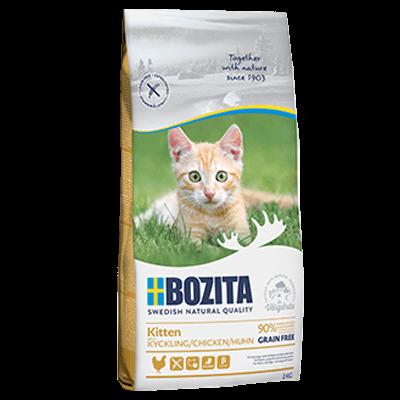 Бозита BOZITA сух д/котят, кош молодых, беремен., кормящих Kitten GF Курица 400г, беззерновой