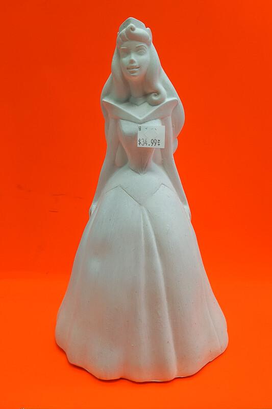 Aurora Princess DIY figurine plaster to paint for kids Art Craft