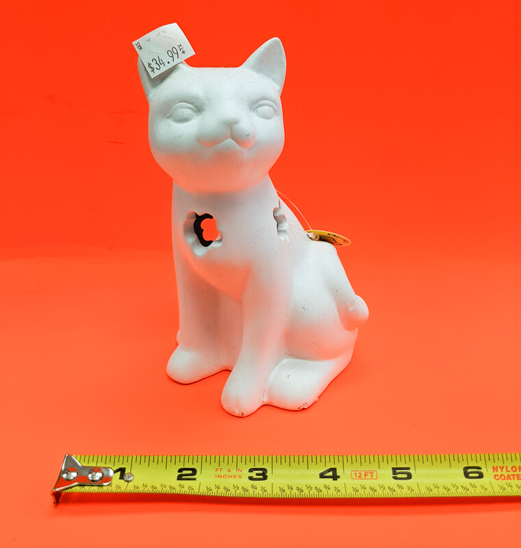 Cat Nightstand DIY figurine plaster to paint for kids Art Craft