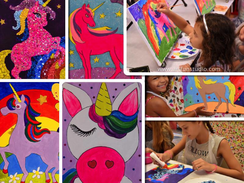 Virtual Mosaic Art Birthday Party Booking