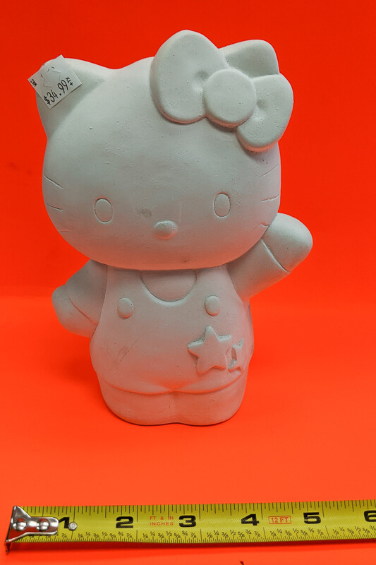 Big Hello Kitty to paint your own DIY plaster figurine Art Craft activity
