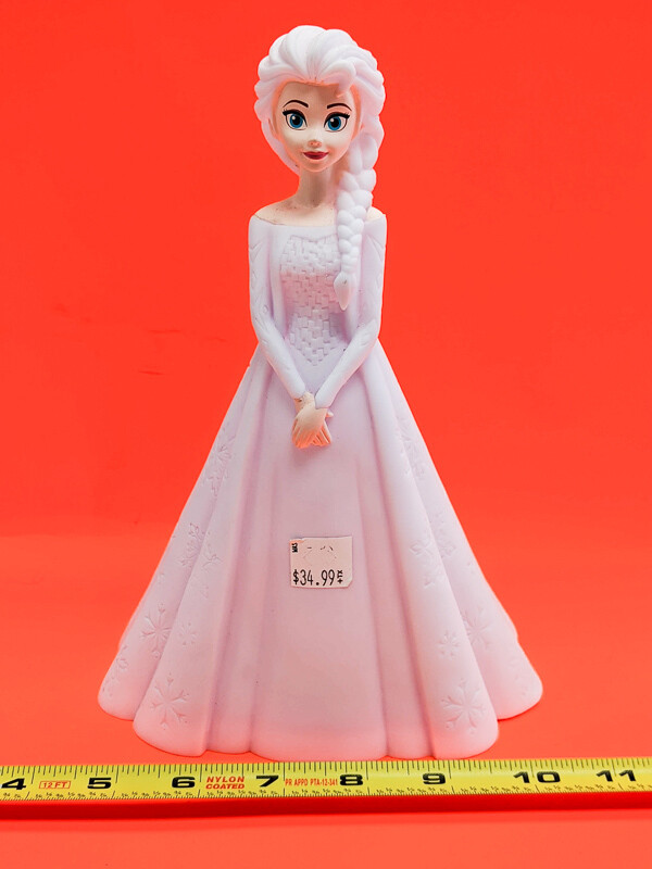 Frozen Elsa Princess to paint your own DIY plastic figurine Art Craft activity