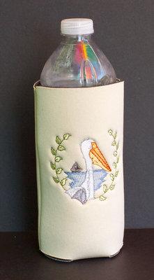 Pelican Water Bottle Koozie