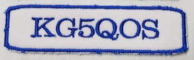 Call Sign Patch