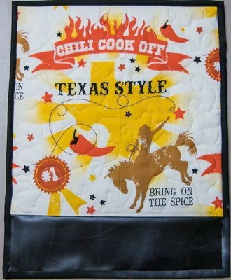 Texas Style Chili Theme Hot Pad