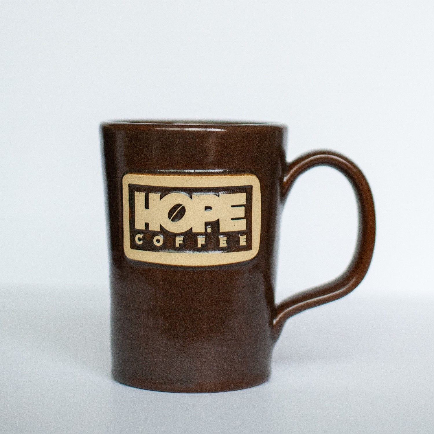 HOPE Coffee 12 oz Handcrafted Stoneware Mug - Abby Style