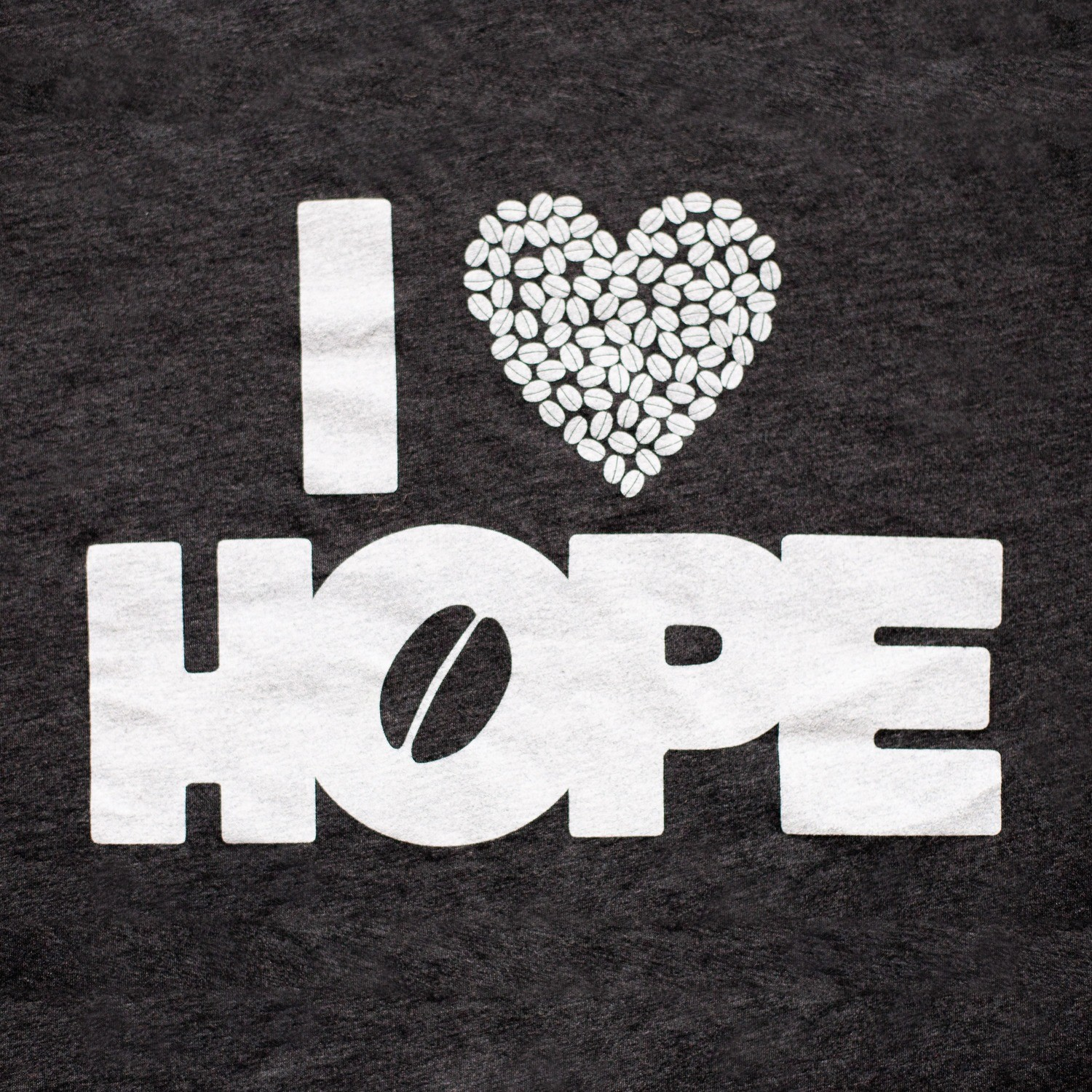 T-Shirts: I Heart HOPE (Charcoal)