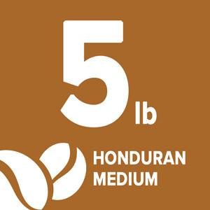 Honduran Medium - 5 Pound Bag
