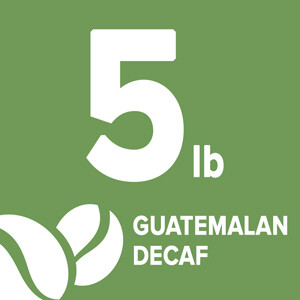 Guatemalan Decaf - 5 Pound Bag