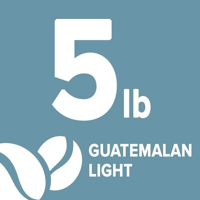 Guatemalan Light - 5 Pound Bag
