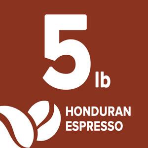 Honduran Espresso Blend - 5 Pound Bag