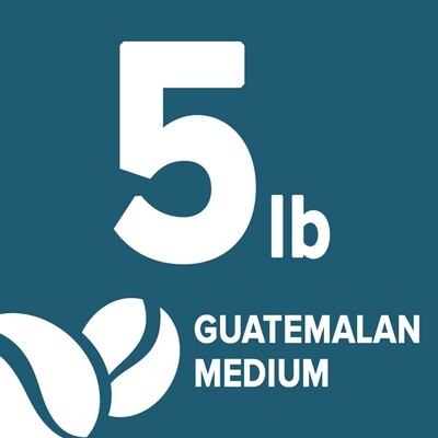 Guatemalan Medium- 5 Pound Bag