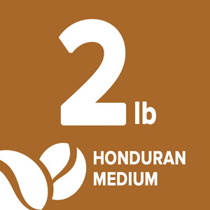 Honduran Medium - 2 Pound Bag