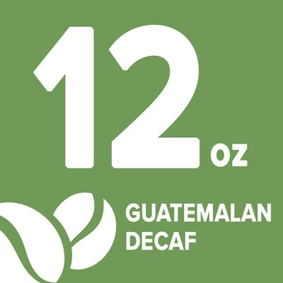Guatemalan Decaf - 12 oz