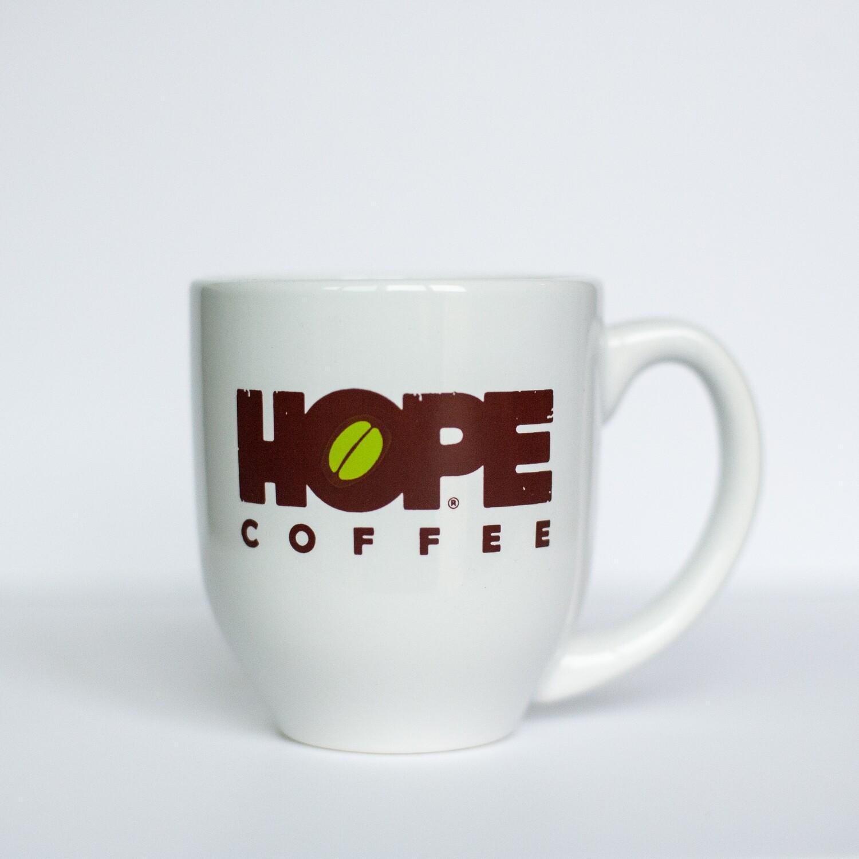 Signature Ceramic Mug and HOPE Coffee Sample Pack