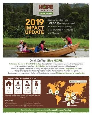 Packs of 25 Impact Reports and Java Club Cards