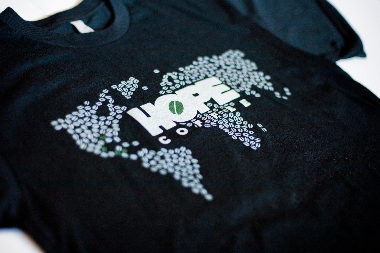 T-Shirt: Unisex Bean World (Vintage Black)