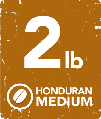 Honduran Medium - 2 Pound Bag
