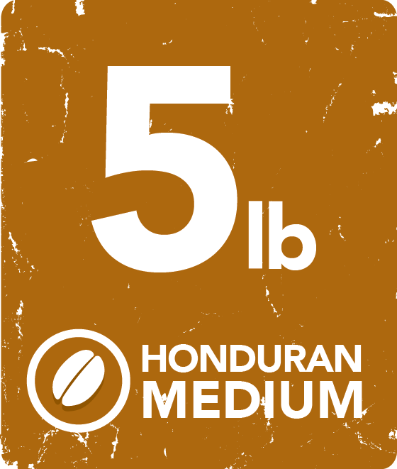 Honduran Medium - 5 Pound Bag