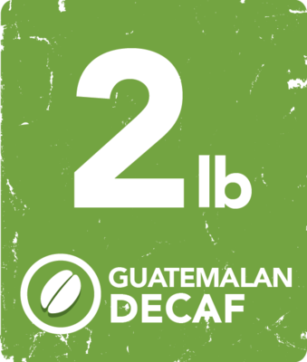 Guatemalan Decaf - 2 Pound Bag