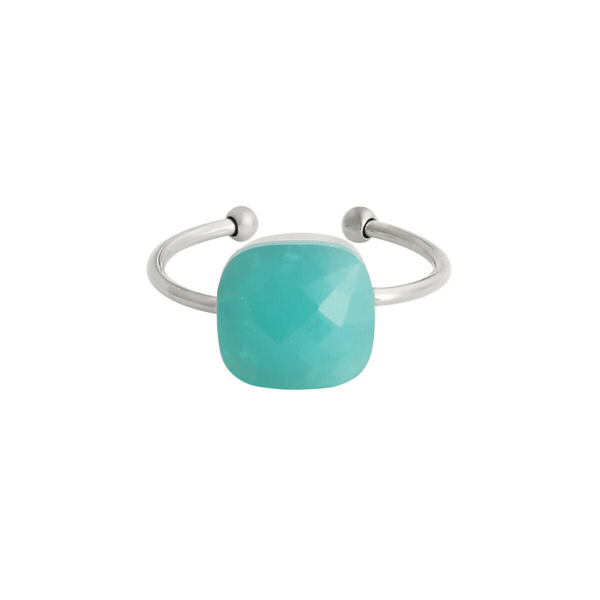 """""""Call it magic"""" ring turquoise zilver"""