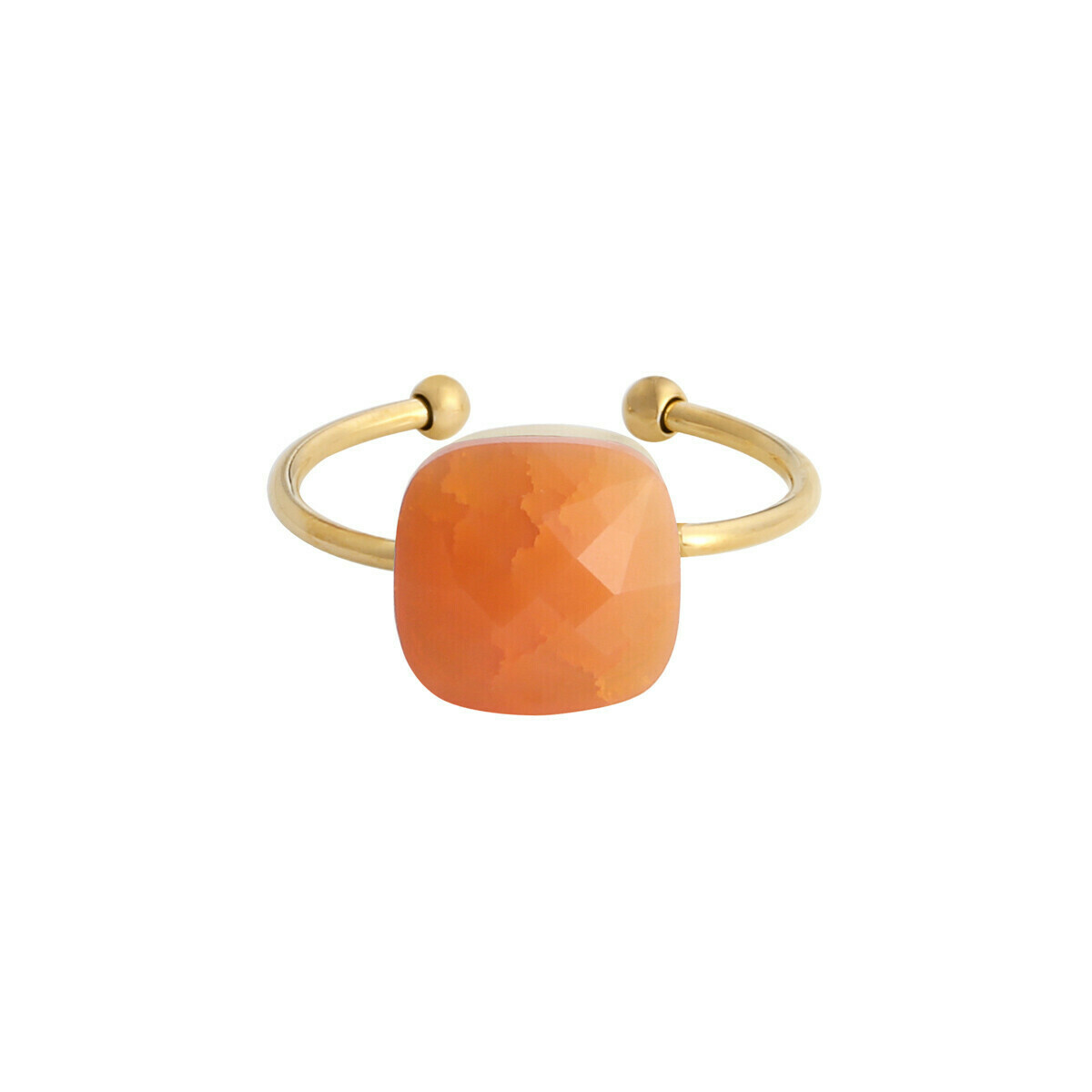 """Call it magic"" ring oranje goud"