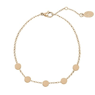 beads armband goud