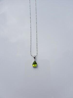 Groen Peridot 925 sterling zilver
