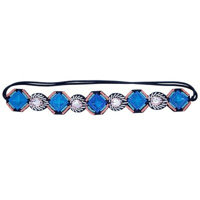 Sparkling beads haarband