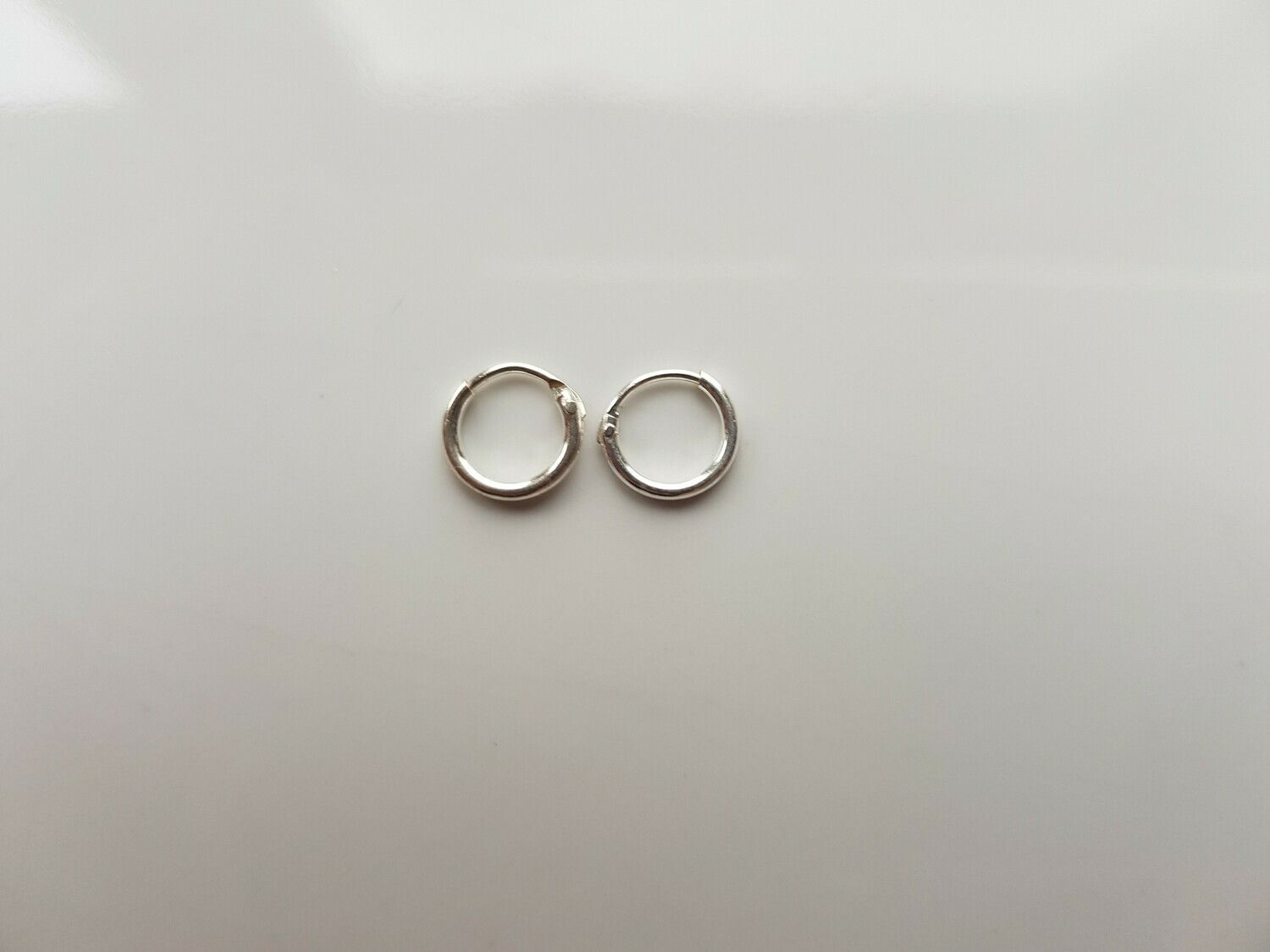Oorringetjes 925 sterling zilver 6mm