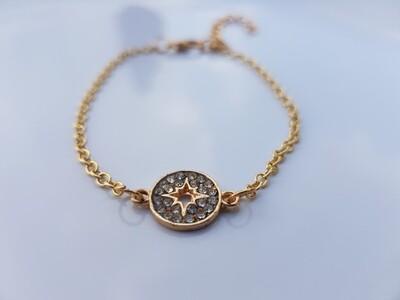 Starcoin armband goud