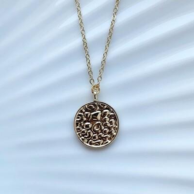 Panterprint coin goud