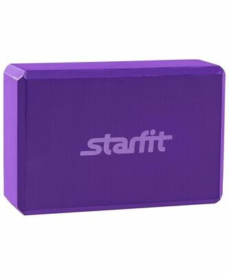 Блок для йоги Starfit FA-101 EVA фиолетовый