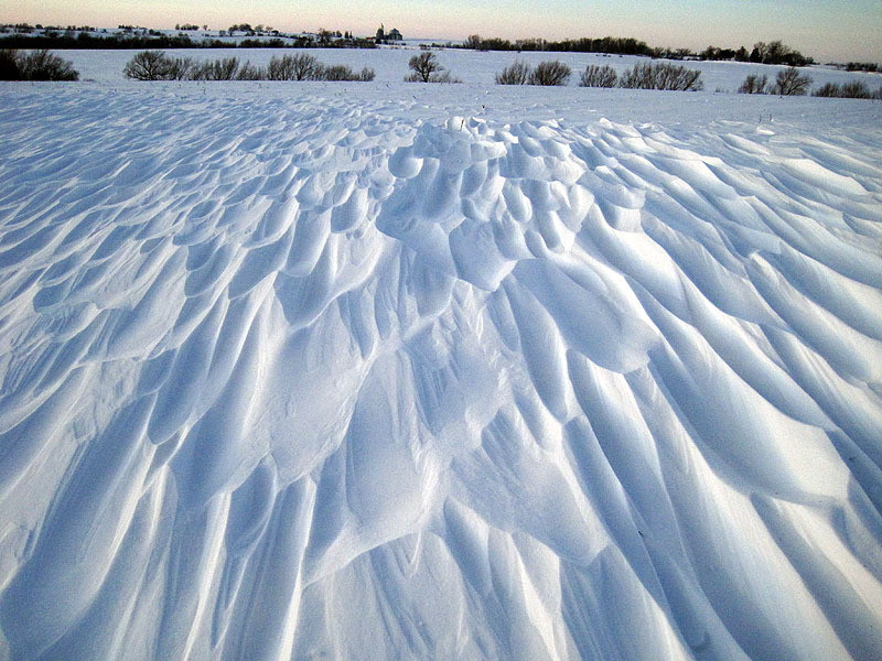 Wind Sculpted Drifts (horz 2) - December, 2012
